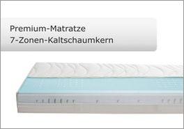 Premium Kaltschaum-Matratze für Boxspringbetten mit Kingston-System