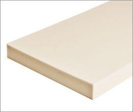 Anpassungsfähiger Matratzenkern der Kaltschaum-Matratze Lineavita Junior mit guter Flächenelastizität