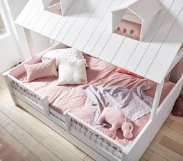 Kinderbett Ferienhaus LIFETIME in Doppelbettgröße