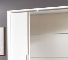 Kleiderschrank Maniago optional mit LED-Beleuchtung