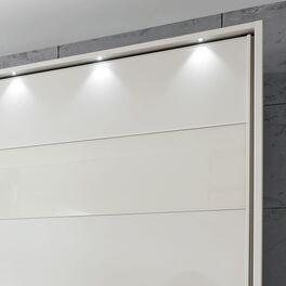 Schwebetüren-Kleiderschrank Biranca mit stilvollem Passepartout-Rahmen
