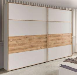 Moderner Kleiderschrank Seabrook ohne Rahmen