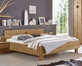 Praktisches Komfortbett Aliano in Doppelbettgröße