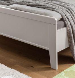 Komfort-Doppelbett Calimera mit attraktivem Fußbereich