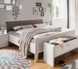 Komfort-Doppelbett Casperia mit angenehmer Einstiegshöhe