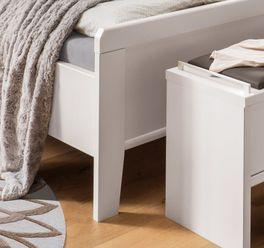 Komfort-Doppelbett Casperia mit erhöhtem Fußbereich