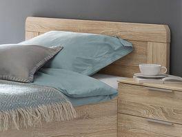 Komfort-Einzelbett Sinello mit schlichtem Kopfteil