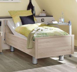 Komfortbett mit Pflegebett-Funktion Isar für ideal für Senioren zu Hause