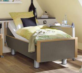 Robustes Komfortbett mit Pflegebett-Funktion Mainau mit komfortabler Einstiegshöhe