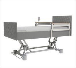 Komfortbett mit Pflegebett-Funktion mit praktischer Höhenverstellung