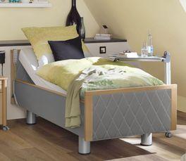 Komfortbett mit Pflegebett-Funktion Rügen mit komfortabler Einstiegshöhe