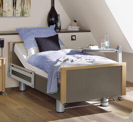 Komfortbett mit Pflegebett-Funktion Sylt aus Buche Massivholz