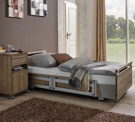 Komfortables Komfortbett mit Pflegebett-Funktion Usedom ideal zur Sturzprophylaxe