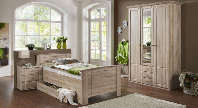 Preiswertes Komplett-Schlafzimmer Carpina für Senioren geeignet