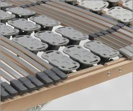 Lattenrost orthowell kombiflex motor mit optimaler Stützkraft