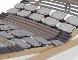 Belastbarer Qualitäts-Lattenrost orthowell kombiflex