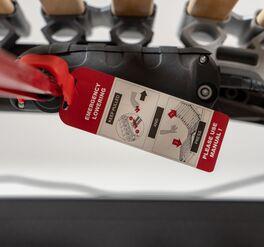 Lattenrost orthowell royalflex XL motor mit sicherer Notabsenkung