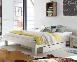 Hochwertige Liege Caldera optional mit Bettschubkasten