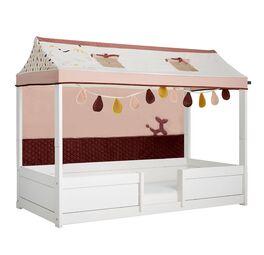 LIFETIME 4-in-1 Kinderbett Funland mit Dachhimmel und Rückwand