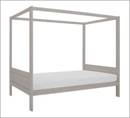 Romantisches LIFETIME Himmelbett Original aus Kiefer