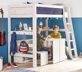 Stabiles LIFETIME Hochbett Color fürs Kinderzimmer