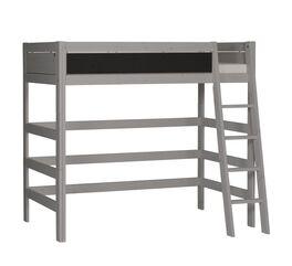 Hochwertiges LIFETIME Hochbett Tafel in Grau lasiert