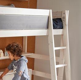 LIFETIME Hochbett Tafel mit schräger Leiter