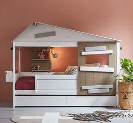 Angesagtes LIFETIME Hüttenbett Hideout für Kinderzimmer