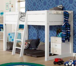 LIFETIME Kinderbett 4-in-1 inklusive stabiler Leiter