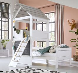 LIFETIME Kinderbett Play Tower in 90x200 cm