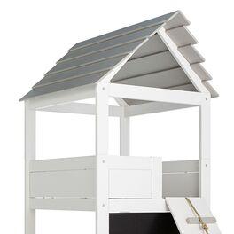 LIFETIME Kinderbett Play Tower mit grauer Spielmatratze