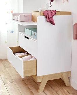LIFETIME Wickelkommode Monina inklusive Schubladen mit Soft-Close