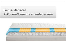 Luxus-Matratze für Boxspringbetten mit Kingston-System