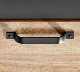 Attraktiver Design-Metallgriff in Schwarz