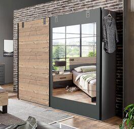 Spiegel-Schwebetüren-Kleiderschrank Midori im angesagten Design