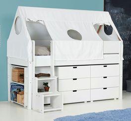 Funktionales und praktisches Mini-Hochbett Tipi Kids Town