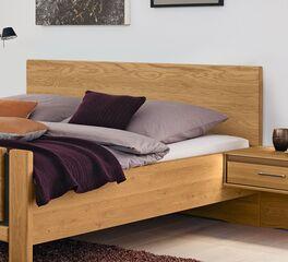 MUSTERRING Bett Sorrent mit Massivholz-Kopfteil