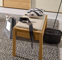 MUSTERRING Bettbank Savona 2.0 aus massivem Eichenholz