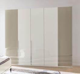 MUSTERRING Drehtüren-Kleiderschrank San Diego Weiß im geradlinigem Design