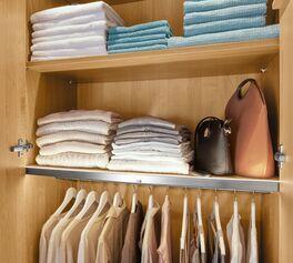 MUSTERRING Drehtüren-Kleiderschrank Savona mit durchdachter Inneneinteilung