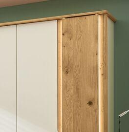 MUSTERRING Funktions-Kleiderschrank Saphira optional mit LED-Beleuchtung