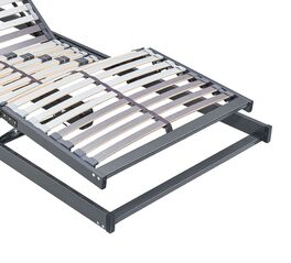 MUSTERRING Motor-Lattenrost Orthomatic FHR 20 mit Federholzleisten