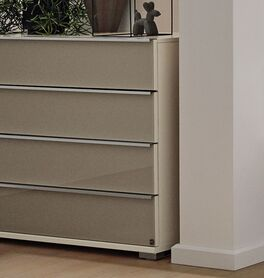 MUSTERRING Schubladen-Kommode San Diego Weiß im zeitlosen Design