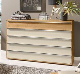 MUSTERRING Schubladen-Kommode Savona 2.0 oben mit Holzfront