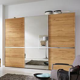 MUSTERRING Schwebetüren-Kleiderschrank Savona mit Spiegel und praktischen Schiebetüren