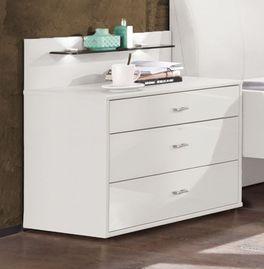 Nachttisch Dwight Komfort mit leichtgängigen Schublade