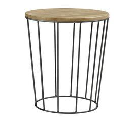 Nachttisch Nantra mit runder Tischplatte
