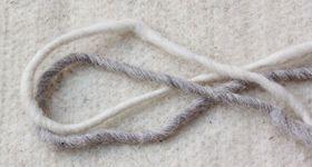 Naturfaser Schafwolle Wollfilz Faserstränge