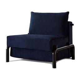 Moderner Schlafsessel Naoto in Nachtblau