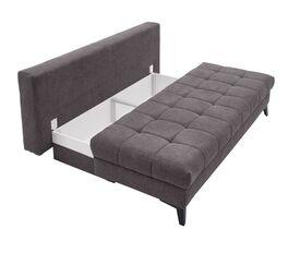 Schlafsofa Pasqua mit integriertem geräumigen Bettkasten
